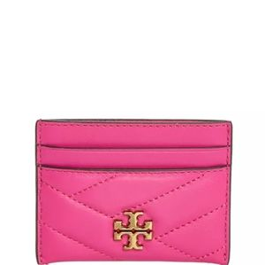 Tory Burch Kiera Chevron Card Case - NWT